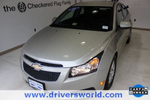 Pre-Owned 2014 Chevrolet Cruze 1LT FWD 4D Sedan
