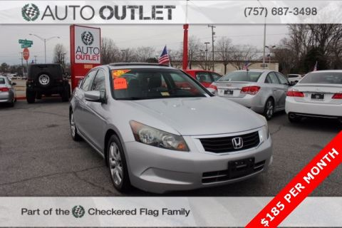 Pre-Owned 2008 Honda Accord EX-L FWD 4D Sedan