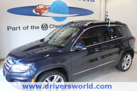 Pre-Owned 2016 Volkswagen Tiguan SEL AWD