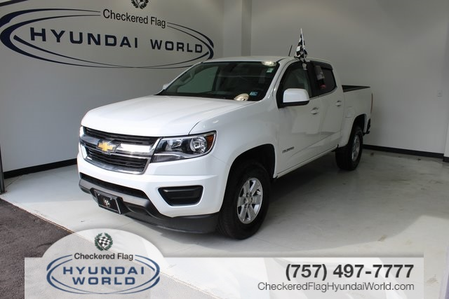 pre-owned 2017 chevrolet colorado work truck 4d crew cab in virginia