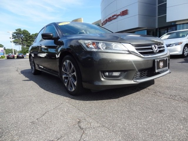 2014 Honda Accord Sport For Sale >> Pre Owned 2014 Honda Accord Sport Fwd 4d Sedan