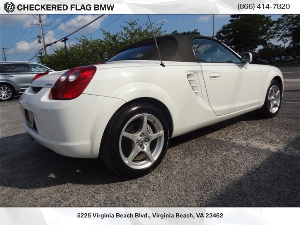 Pre Owned 2003 Toyota Mr2 Spyder Base Rwd 2d Convertible