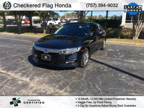 Pre-Owned 2018 Honda Accord EX-L 2.0T