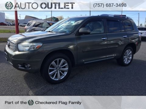 Pre-Owned 2008 Toyota Highlander Hybrid Limited